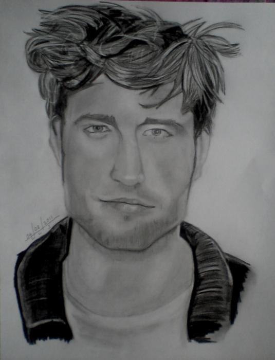 Robert Pattinson by lahirlakminisilva